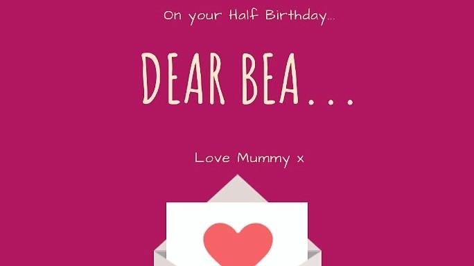 Dear Bea…